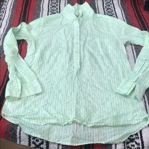 J.Crew green pullover size 2